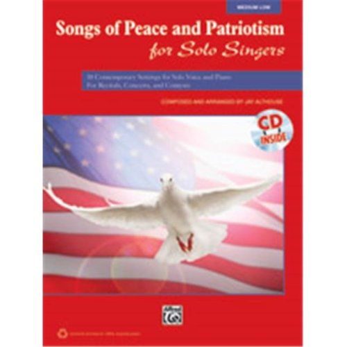 Alfred 00-38148 SONGS OF PEACE PAT SOL SNG-LO-BK&CD