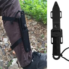 Pointed/Arc Head Knife Diving Straight Knife Outdoor Survival Pockets Knife