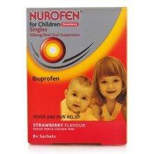 Nurofen For Children Strawberry 8 Sachets
