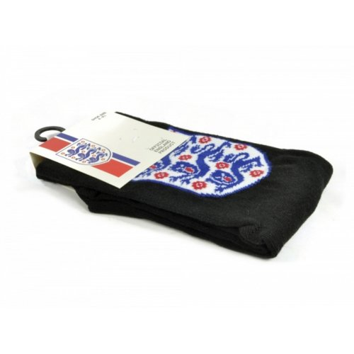 England Official Childrens/Kids Football Crest Socks (1 Pair)