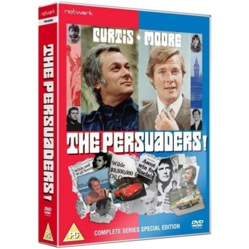 The Persuaders - The Complete Series DVD [2011]