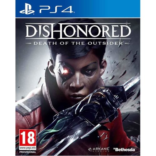 Dishonored Death of the Outsider Video Game - PS4