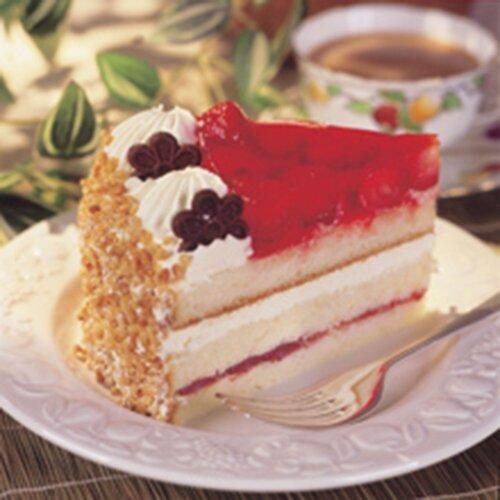 City Cakes Frozen Strawberry Gateau - 1x16ptn