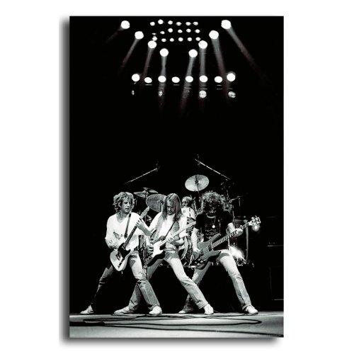 Status Quo Live 1981 Poster