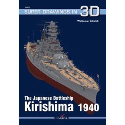 The Japanese Battleship Kirishima 1940