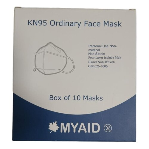 MYAID Medical Face Mask - Type IIR (Box of 10)