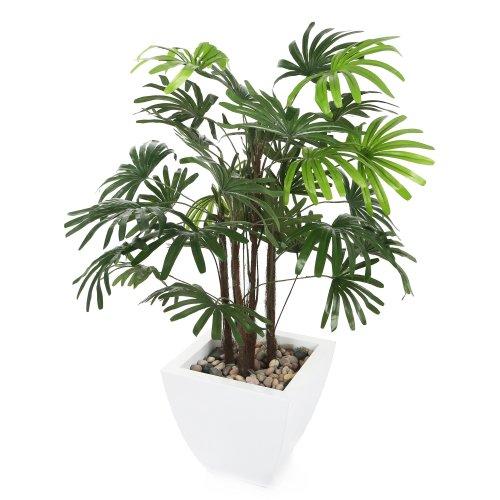 Closer2Nature Artificial 3ft Lady Palm Tree - Portofino Planter Not Included