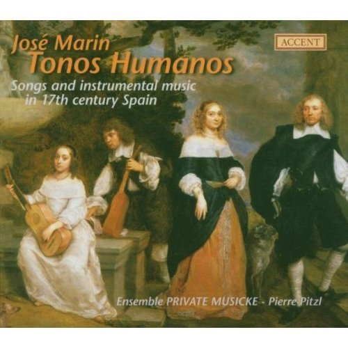JOSE MARIN - TONOS HUMANOS [CD]