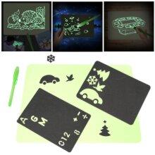 Toy Drawing Board  Light Drawing Board Fun Educational toys Magic