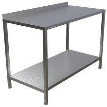 Stainless Steel Commercial Kitchen Tables Easy Clean Hygienic