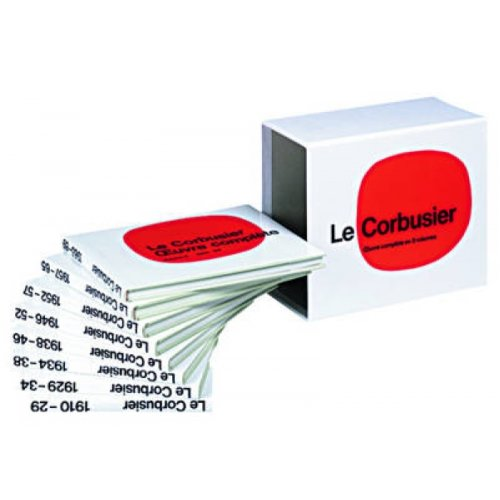 Le Corbusier  OEuvre complete en 8 volumes  Complete Works in 8 volumes  Gesamtwerk in 8 Banden by W