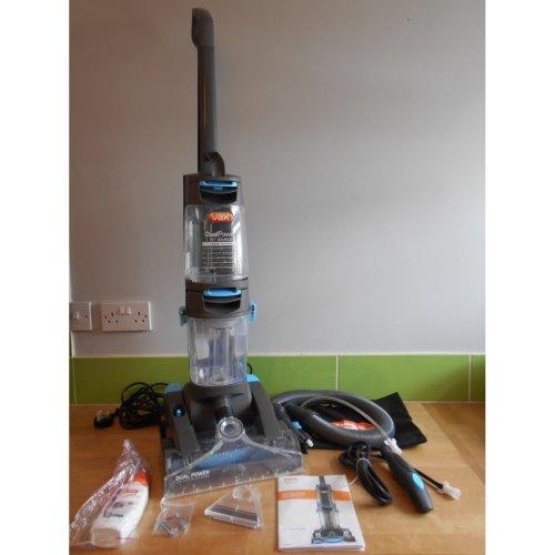 Vax ECR2V1P Dual Power Pet Advance Carpet Cleaner 4.2 L Grey/Blue