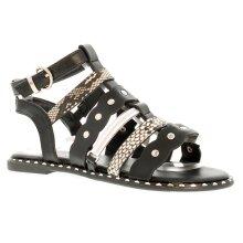 Miss Riot Bessie Older Girls Gladiator Strappy Sandals 13-5