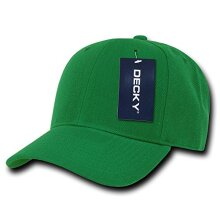 DEcKY Fitted cap, Kelly green, 7 1/4