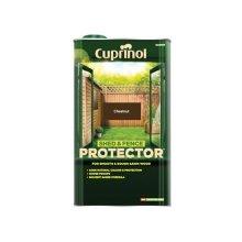 Cuprinol 5095349 Shed & Fence Protector Chestnut 5 Litre