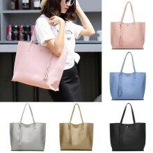 Women Shoulder Bag Tote Large Handbag Office Ladies Bags PU Leather