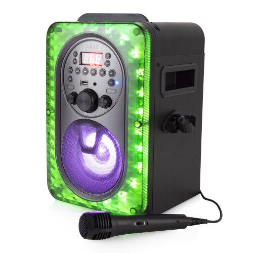 Akai A58103 Vibes CDG/Bluetooth Karaoke System
