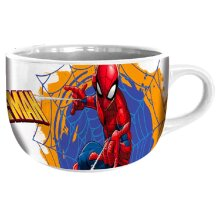 mug Spider-man 600 ml ceramic white/blue/red