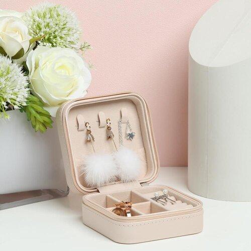 Portable Display Travel Earring Jewelry Box