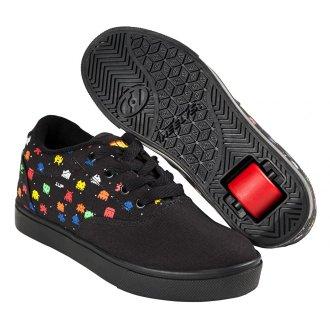 Heelys Launch Unisex Kids Roller Skate Shoes, Black/Multi Droids