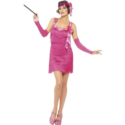 Fever Flapper Hotty Costume, UK Dress 8-10