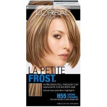 L'Oreal Paris Le Petite Frost Pull-Through Cap Highlights For Short Hair, H55 Creme Caramel