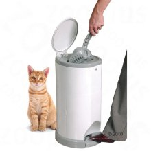 Cat Litter Waste Disposal System with FREE 1 x Replacement bag
