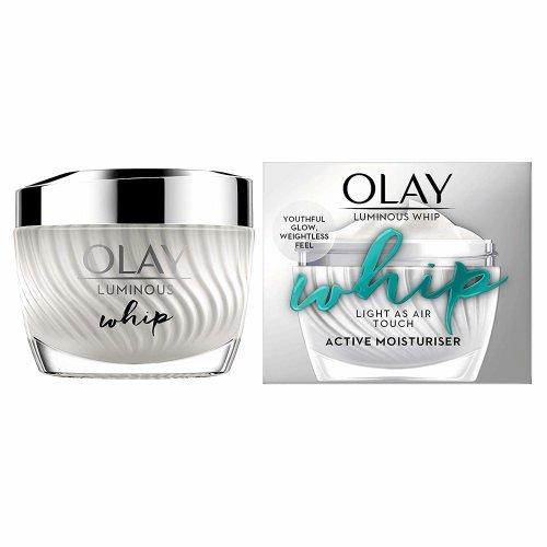 Olay Luminous Whip Light As Air Moisturiser For Glowing Skin 50ml