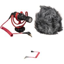 Rode VideoMicro Compact On-Camera Microphone and Cable Kit  B&H