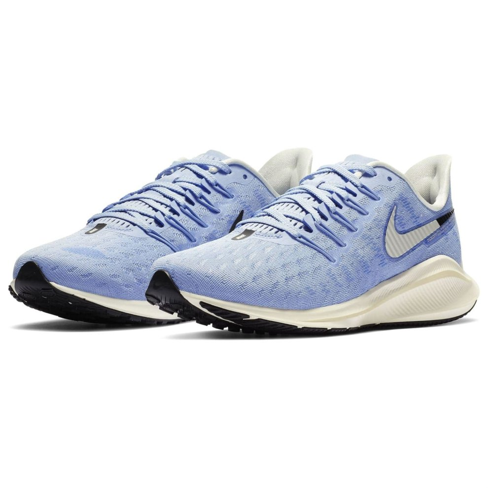 (5 UK, Blue) Nike Air Zoom Vomero 14 Womens Running Trainers Shoes Blue Athleisure Sneakers