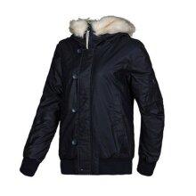 Adidas Originals Zip Up Button Up Womens Padded Hooded Jacket M64460 A60B