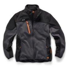 Scruffs Trade Tech Softshell Charcoal Jacket (S-XXL) Mens Technical Work Coat