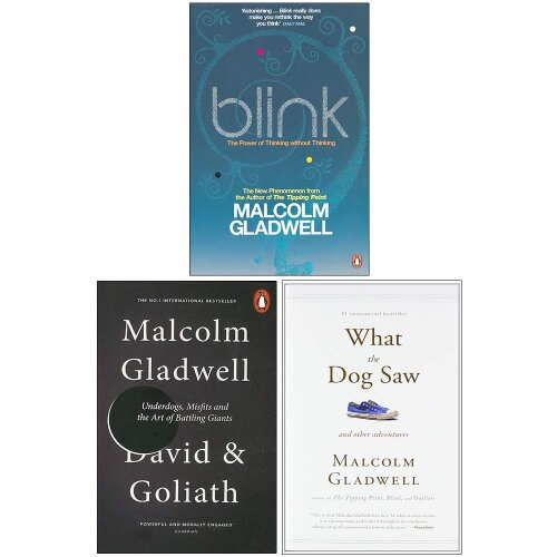 Malcolm Gladwell Collection 3 Books Set