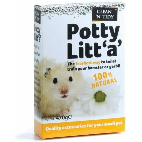 Potty Training Litter Granuals for Hamsters & Gerbils