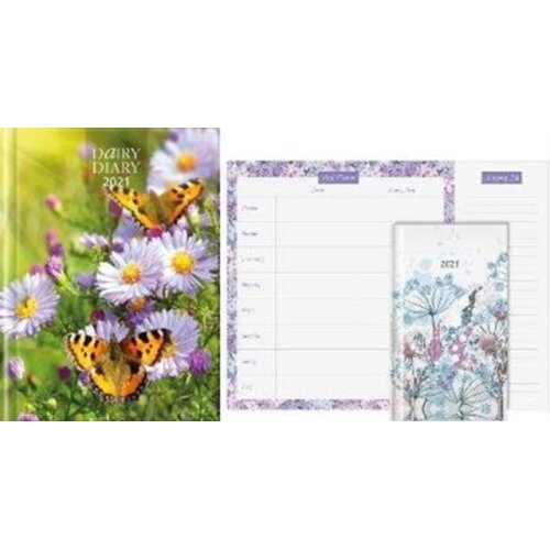 Dairy Diary Set 2021 2021  A British icon used by millions since its launch. Updated for 2021 this g