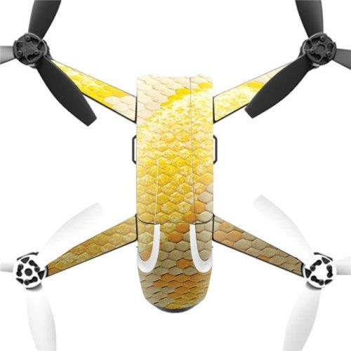 MightySkins PABEBOP2-Albino Python Skin Decal Wrap for Parrot Bebop 2 Quadcopter Drone - Albino Python