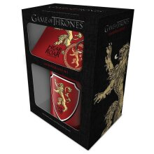 Game of Thrones Lannister Mug and Coaster Set