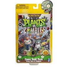"Plants vs Zombies Comic Book Pack Action Figure 3"""