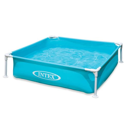 Intex Swimming Pool Mini Frame 122x122x30cm Above Ground Play Water Centre