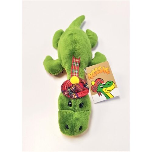 Nessie Loch Ness Monster Swimming Soft Toy 11""