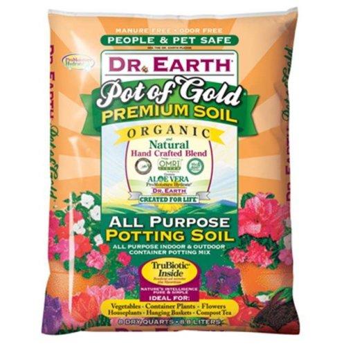 Dr Earth 219804 8 Quart All Purpose Potting Soil