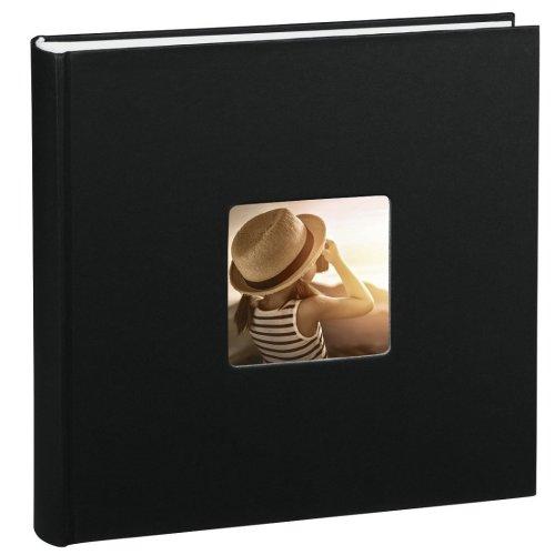 Hama Fine Art Jumbo Photo Album (30 x 30 cm, 100 Pages, 50 sheets - Black