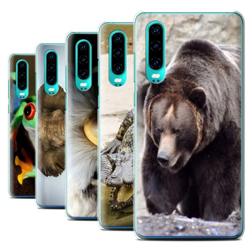 Wildlife Animals Huawei P30 2019 Phone Case Transparent Clear Ultra Slim Thin Hard Back Cover for Huawei P30 2019