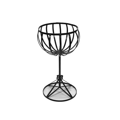 High Cauldron Basket Stand