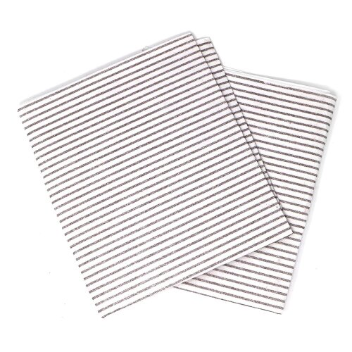UNIVERSAL COOKER HOOD FILTERS WITH GREASE SATURATION INDICATOR - 2 PACK