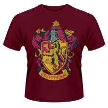 Harry Potter 'Gryffindor' (Red) T-Shirt