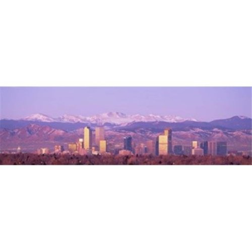 Denver  Colorado  USA Poster Print by  - 36 x 12