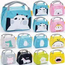 Kids Children Cartoon Insulated School Lunch Bags Picnic Tote Thermal Case Box