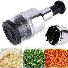 Pressing Chopper Kitchen Peeler Onion Dicer Cutter Vegetable Food Slicer Garlic
