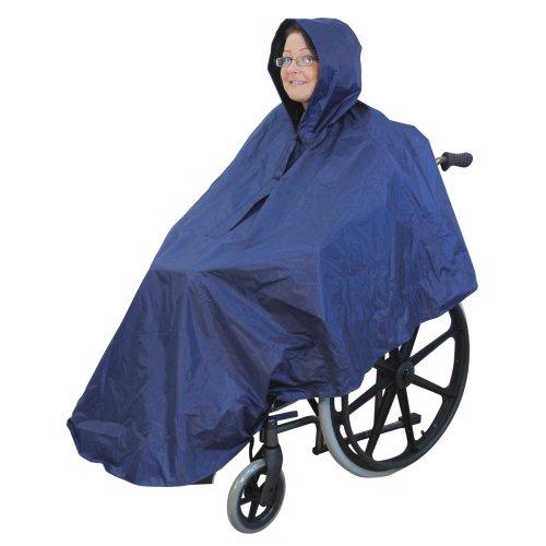 Wheelchair Poncho - Waterproof Wheelchair Cover - Wheelchair Clothing